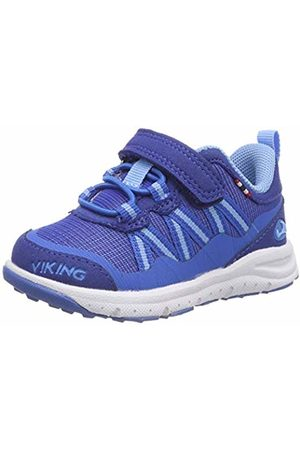 Viking Unisex Kids' Holmen Cross Trainers, Blau (Dark 7635)