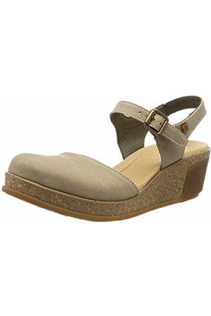 El Naturalista Women's N5001 Pleasant Piedra/Leaves Sling Back Sandals