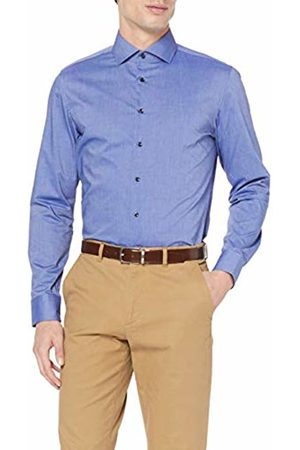 Seidensticker Men's Slim Langarm Mit Kent Kragen Bügelfrei Formal Shirt