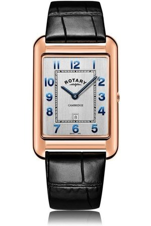 Rotary Watches Men Watches - Rotary Mens Rose Pvd Strap Cambridge