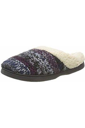 8bb33dd9236fa2 Dearfoams Women s s Chunky Knit Clog Open Back Slippers ( 00003) 5 6 UK 38