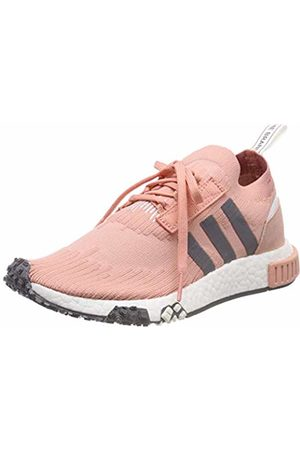 adidas Women's's NMD_Racer Pk W Gymnastics Shoes, Trace F17/Trace F17/Cloud