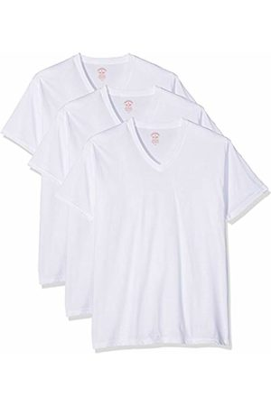 Brooks Brothers Men's Maglia Pigiama V-Neck Sports Underwear, ( 100)