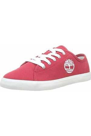 Timberland Unisex Kid's Newport Bay Canvas Trainers (Barbados Cherry Wrp) 2.5 (35 EU)