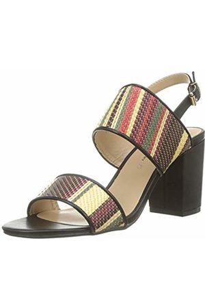 The Divine Factory Women's Licia Open Toe Sandals