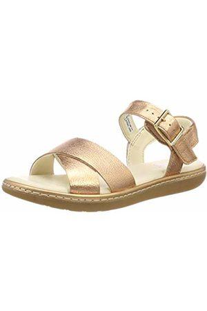 Clarks Girls'' Skylark Pure K Sling Back Sandals, (Bronze-)