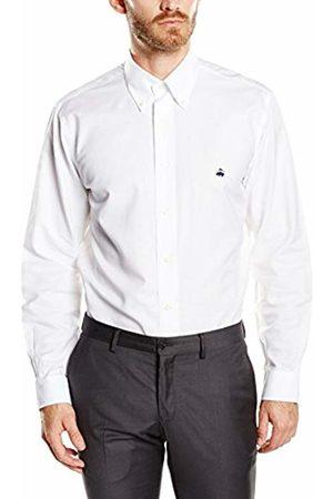 Brooks Brothers Men Sport NON-IRON Oxford Slim shirt