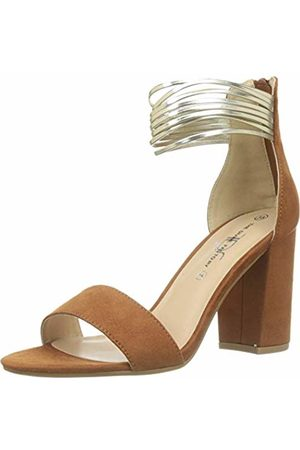 The Divine Factory Women's Roberta Ankle Strap Sandals