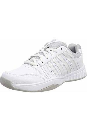 K-Swiss Women's's Court Smash Carpet m Tennis Shoes, Wht/High-Rise, 6.5 000070594