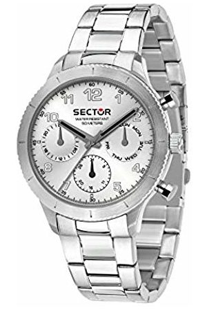 Sector No Limits Womens Chronograph Quartz Watch with Stainless Steel Strap R3253578013