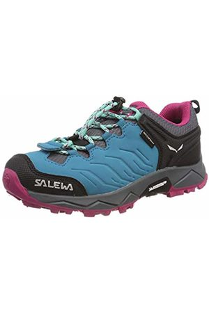 Salewa Boys' JR MTN Trainer WP Low Rise Hiking Boots Blau (Malta/Vivacious 8736) 8.5 Child UK