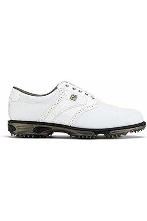 FootJoy Men's's DryJoys Tour Golf Shoes (Blanco 53700) 8 UK