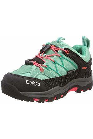 CMP Kids' Rigel Low Rise Hiking Shoes (Aquamint- Fluo 54ec) 11 UK