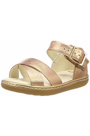 Clarks Girls'' Skylark Pure T Sling Back Sandals (Bronze -) 5.5 UK