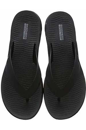 Skechers Women's Jelly 3 Point Sandal W/Molde Flip Flops, ( BBK)