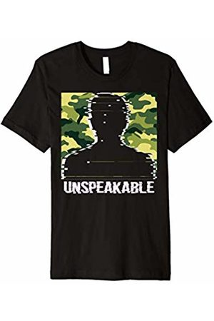 Meme Saying Gamer T-Shirt Fan Unspeakable Shirt Proud Army Man Face 5 colors