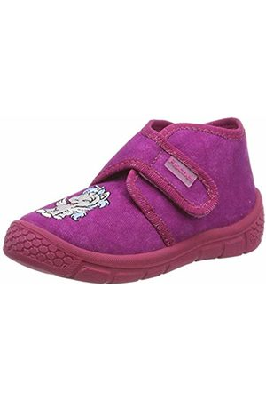 Fischer Girls' Honey Hi-Top Slippers