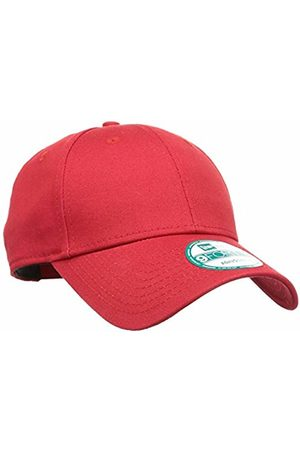 New Era Men's's NE Basic 9FORTY SCAWHI Baseball Cap, Rouge