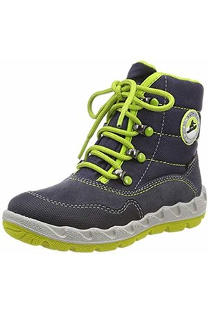 Superfit Boys' Icebird Snow Boots, (Blau/grün 80)