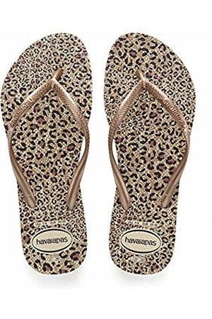 Havaianas Women's Slim Animals Flip Flops, ( Rose )