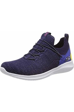 Skechers Women's Ultra Flex-More Tranquility Trainers (Navy Mint Nvmt) 5 (38 EU)