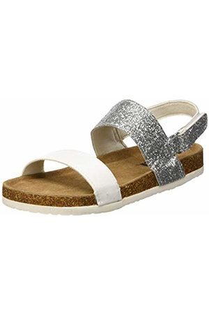 Xti Girls' 56863 Open Toe Sandals, Plata