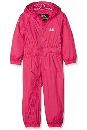 Trespass Children's Unisex Button Rain Suit, Children's, Button, Rose