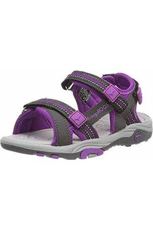 KangaROOS Kids' K-Leni Closed Toe Sandals Grau (Charcoal/ 2096) 6 UK