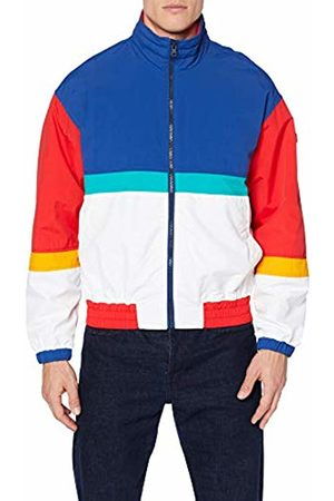 Tommy Hilfiger Men's TJM Pieced Jacket Blau (Limoges/Multi 434)