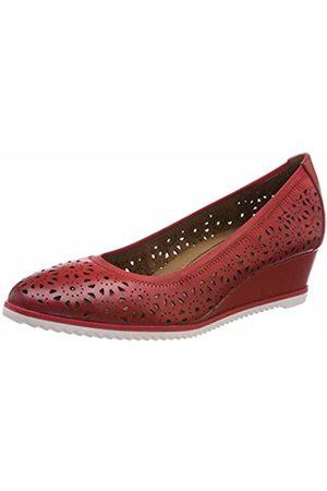 Woms Ballerina (Raspberry Lea.) (£29.99) Tamaris  