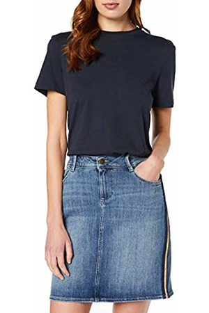 s.Oliver Women's 14.809.79.2891 Skirt, (Denim Stretch 55Z6)