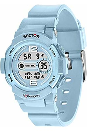 Sector No Limits Unisex Adult Digital Watch with Plastic Strap R3251525003