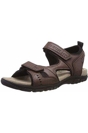 Geox Men's Uomo Sandal Strada A Open Toe