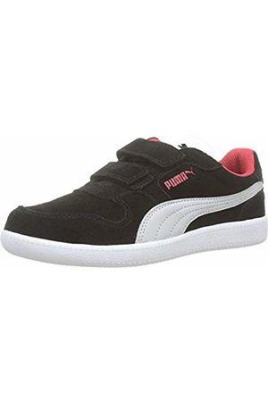 Puma Unisex Kids' Icra Trainer SD V PS Low-Top Sneakers, -Gray Violet -High Risk