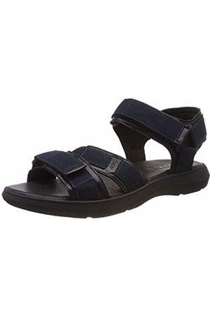 Geox Men's's U Goinway B Open Toe Sandals (Navy/ C0045) 6.5 UK