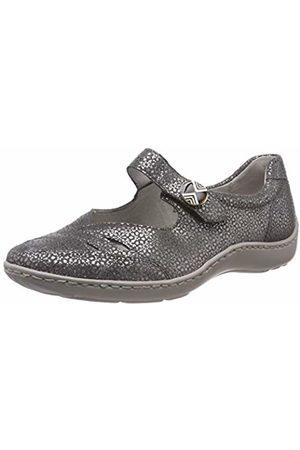 Waldläufer Women's's Henni Ballet Flats (Tobago Cement 013) 8 UK