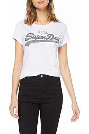 Superdry Women's's Vintage Logo Sparkle Entry Tee Kniited Tank Top