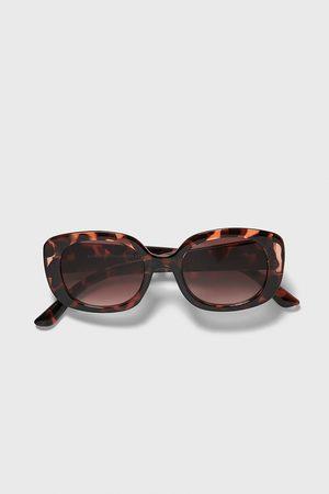 Zara Tortoiseshell effect sunglasses