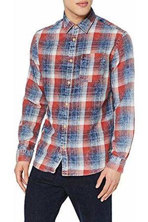 Jack & Jones Men T-shirts - Men's Jorknox Shirt Ls Casual X-Large