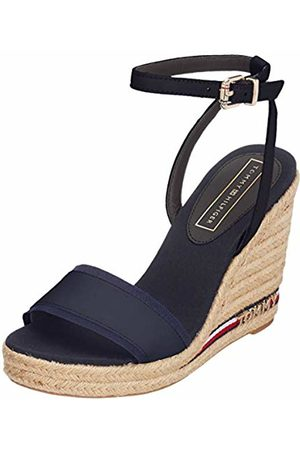 Tommy Hilfiger Women's's Iconic Elena Corporate Ribbon Platform Sandals (Midnight 403) 6.5 UK