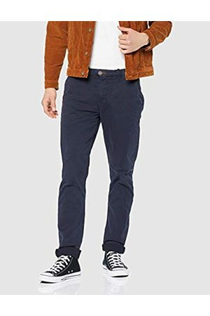 Springfield Men's's Chino Slim BSC Primav Gdy Trouser (Gama Azules 19) (Size: 42)