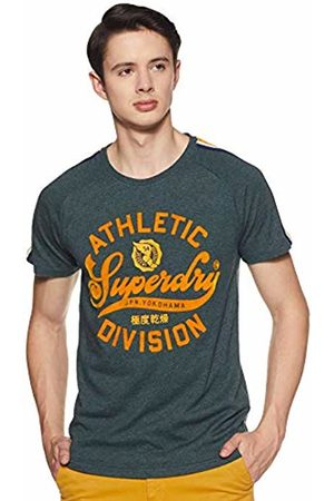 Superdry Men's's Academy Athletics Tee Kniited Tank Top, (Highland Marl Zd9)