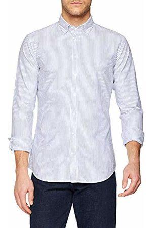 Seidensticker Men's Extra Slim Langarm Mit Button-Down Kragen Soft Gestreift Smart Business Formal Shirt