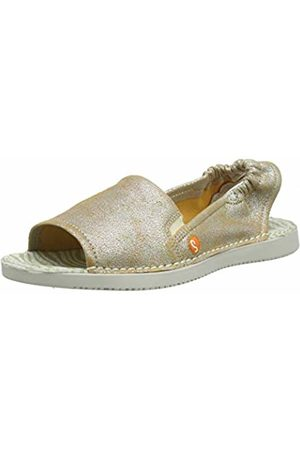 softinos Women's's Tee430sof Open Toe Sandals Off- (Pearl 012) 3 UK