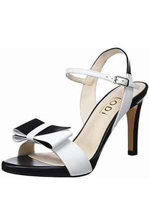Lodi Women's Ibarra Ankle Strap Sandals, Glove Blanco
