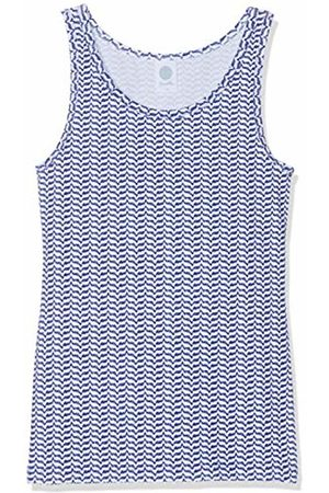 Sanetta Girls Tank Tops - Girl's Shirt W/o Sleeves Allover Vest (Blueprint 50209) 140