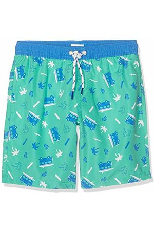 Sanetta Boy's Swim Trunks Woven Shorts, (Algal)