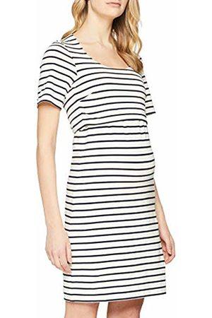 Boob Women's Maternity Nursing Dress Simone s/s, (Tofu/Midnight 2466)