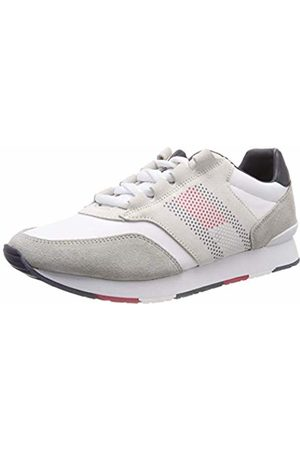 Tommy Hilfiger Men Trainers - Corporate Material Mix Runner, Men's Low-Top Sneakers
