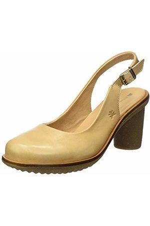 El Naturalista Women's N5155 Vaquetilla Wood/Trivia Closed Toe Heels